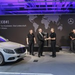 Produktion der neuen C-Klasse startet im Mercedes-Benz Werk Bremen