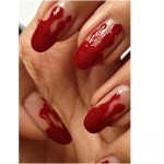 Halloween Special Bloody Nails #4 ‖ NOTD (+English version)