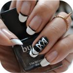 Manicure Monday | NAIL TUTORIAL #Chucks Converse Nails (+English version)