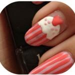 Manicure Monday | NAIL TUTORIAL #Cupcake (+English version)