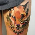 Künstler im Fokus: Tattoos von Sasha Unisex – Abstrakte Sphären