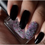 Manicure Monday | DIY Caviar Nails (+English version)