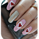 Manicure Monday | NAIL TUTORIAL #Be My Valentine (+English version)